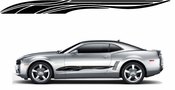 Racing Car Graphics pinstirpes Window Vinyl Car Wall Decal Sticker Stickers 105