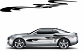 Racing Car Graphics pinstirpes Window Vinyl Car Wall Decal Sticker Stickers 107