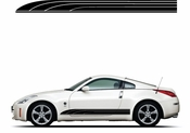 Racing Car Graphics pinstirpes Window Vinyl Car Wall Decal Sticker Stickers 112