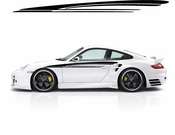 Racing Car Graphics pinstirpes Window Vinyl Car Wall Decal Sticker Stickers 114