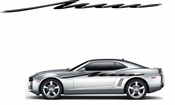 Racing Car Graphics pinstirpes Window Vinyl Car Wall Decal Sticker Stickers 117