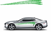 Racing Car Graphics pinstirpes Window Vinyl Car Wall Decal Sticker Stickers 120