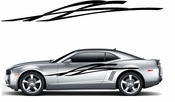 Racing Car Graphics pinstirpes Window Vinyl Car Wall Decal Sticker Stickers 123