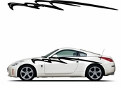 Racing Car Graphics pinstirpes Window Vinyl Car Wall Decal Sticker Stickers 127