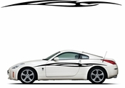 Racing Car Graphics pinstirpes Window Vinyl Car Wall Decal Sticker Stickers 130