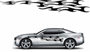 Racing Car Graphics pinstirpes Window Vinyl Car Wall Decal Sticker Stickers 133