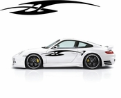 Racing Car Graphics pinstirpes Window Vinyl Car Wall Decal Sticker Stickers 134