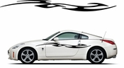 Racing Car Graphics pinstirpes Window Vinyl Car Wall Decal Sticker Stickers 137