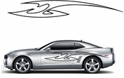 Racing Car Graphics pinstirpes Window Vinyl Car Wall Decal Sticker Stickers 139