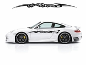 Racing Car Graphics pinstirpes Window Vinyl Car Wall Decal Sticker Stickers 141