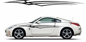 Racing Car Graphics pinstirpes Window Vinyl Car Wall Decal Sticker Stickers 144