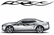 Racing Car Graphics pinstirpes Window Vinyl Car Wall Decal Sticker Stickers 146