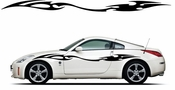 Racing Car Graphics pinstirpes Window Vinyl Car Wall Decal Sticker Stickers 149