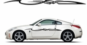 Racing Car Graphics pinstirpes Window Vinyl Car Wall Decal Sticker Stickers 150