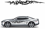 Racing Car Graphics pinstirpes Window Vinyl Car Wall Decal Sticker Stickers 152