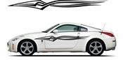Racing Car Graphics pinstirpes Window Vinyl Car Wall Decal Sticker Stickers 153