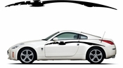 Racing Car Graphics pinstirpes Window Vinyl Car Wall Decal Sticker Stickers 159
