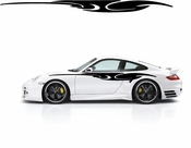 Racing Car Graphics pinstirpes Window Vinyl Car Wall Decal Sticker Stickers 160