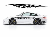 Racing Car Graphics pinstirpes Window Vinyl Car Wall Decal Sticker Stickers 166