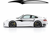 Racing Car Graphics pinstirpes Window Vinyl Car Wall Decal Sticker Stickers 167