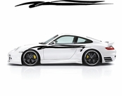 Racing Car Graphics pinstirpes Window Vinyl Car Wall Decal Sticker Stickers 177