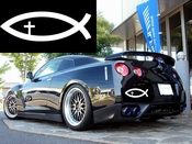Christian Fish Vinyl Decal Car Performance Stickers