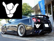 Hang Loose Hand Vinyl Decal Car Performance Stickers