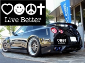 Live BetterVinyl Decal Car Performance Stickers