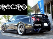 Necro Vinyl Decal Car Performance Stickers