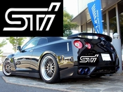 STI Vinyl Decal Car Performance Stickers