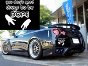 You don�t need drugs to be dope Vinyl Decal Car Performance Stickers