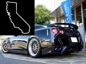 California Vinyl Decal Car Performance Stickers