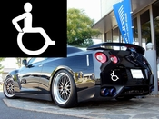 Handicap Vinyl Decal Car Performance Stickers