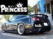 Princess Vinyl Decal Car Performance Stickers