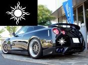 Sun Vinyl Decal Car Performance Stickers