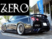 Zero Vinyl Decal Car Performance Stickers