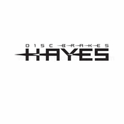 Hayes Disc Brakes Car aftermarket logo Vinyl Decal Stickers