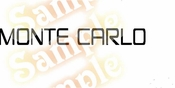 Chevy MONTE CARLO Vinyl Decal Car Performance Stickers