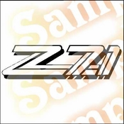 Z71 FILE 2 Vinyl Decal Car Performance Stickers