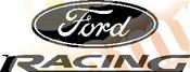 Ford Racing Vinyl Decal Car Performance Stickers