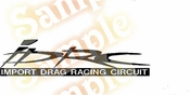 IMPORT DRAG RACING CIRCUIT Vinyl Decal Car Performance Stickers