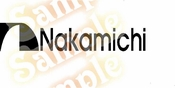NAKAMICHI Vinyl Decal Car Performance Stickers