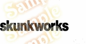 SKUNK WORKS Vinyl Decal Car Performance Stickers