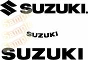 SUZUKI Vinyl Decal Car Performance Stickers