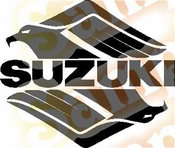 Suzuki Intruder Vinyl Decal Car Performance Stickers