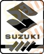 Suzuki 2 Vinyl Decal Car Performance Stickers