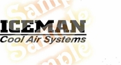 ICEMAN Vinyl Decal Car Performance Stickers