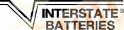 INTERSTATE BATTERIES Vinyl Decal Car Performance Stickers