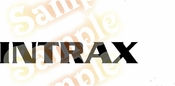 INTRAX 2 Vinyl Decal Car Performance Stickers