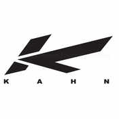 Kahn Car aftermarket logo Vinyl Decal Stickers